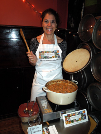 Laura Luciano was the rare winner of both people's and judges' choice awards at the Fifth Annual Cassoulet Cookoff. See all the photos of the weekend's events here.