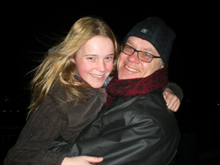 """Yes, that is Tim Robbins with my daughter. After wrapping a multi-million dollar funded pilot with A-listers and Oscar winners. It wasn't picked up by the network. We were told by everyone: """"It's a sure thing."""""""