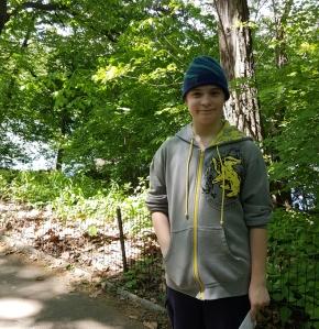 No, raising a 13-year-old boy isn'teasier